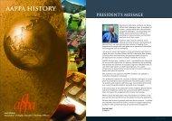 aappa history - Tertiary Education Facilities Management Association