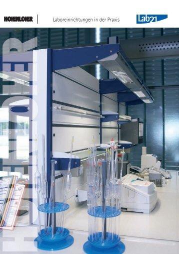 HOHENLOHER - Lab21 in der Praxis