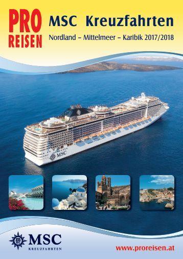 PRO REISEN MSC Kreuzfahrten 2017/18