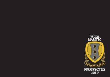 Maesteg Prospectus 04.07.16
