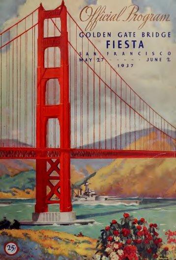 Official souvenir program : Golden Gate Bridge fiesta : celebrating ...