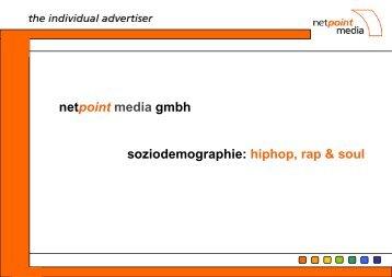 netpoint media gmbh soziodemographie: hiphop, rap & soul