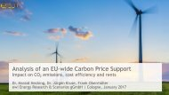 Analysis of an EU-wide Carbon Price Support