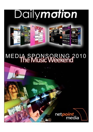 Th M i W k d The Music Weekend - Netpoint Media