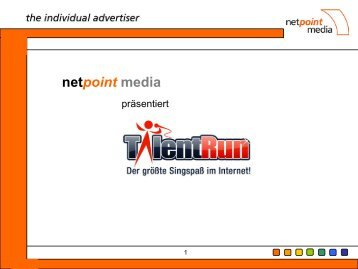 Die Plattform: Song wählen & singen! - Netpoint Media
