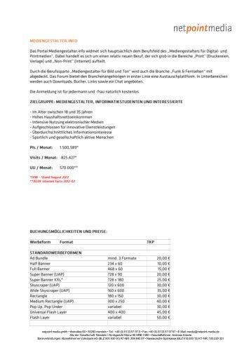 sonderwerbefläche - netpoint media GmbH