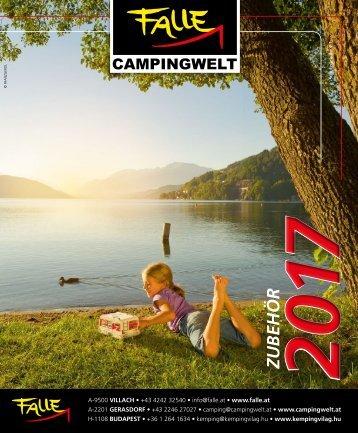 Falle Campingwelt Katalog 2017