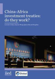 China-Africa investment treaties do they work?
