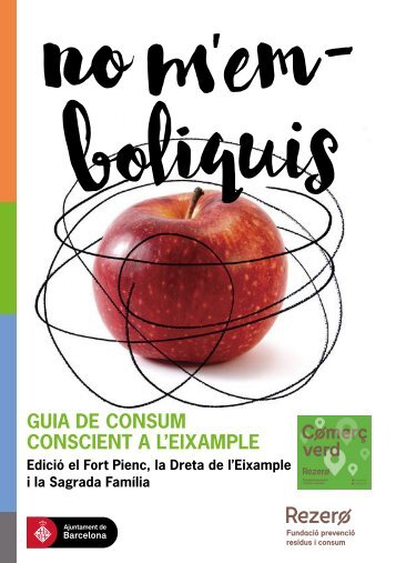 GUIA DE CONSUM CONSCIENT A L'EIXAMPLE