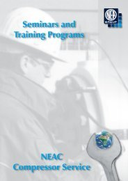 Seminars and Training Programs NEAC ... - Neuman & Esser