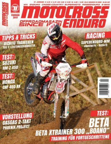 Motocross Enduro Ausgabe 02/2017