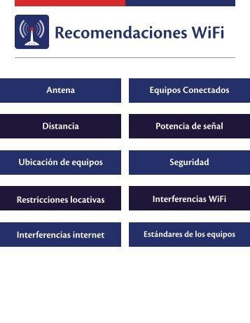 Recomendaciones WiFi
