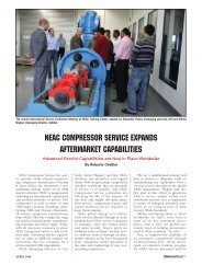 neac compressor service expands aftermarket ... - Neuman & Esser