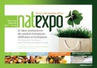A new hall for NATEXPO! - Ein Herz für Bio