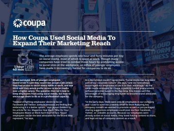 How Coupa Used Social Media To Expand Their Marketing Reach
