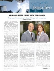 NeumaN & esser Leaves room for Growth - European Forum of ...