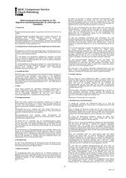 NEAC Compressor Service GmbH & Co. KG ... - Neuman & Esser