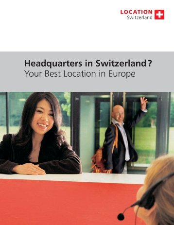 Headquarters in Switzerland - Swiss Chinese Chamber of Commerce