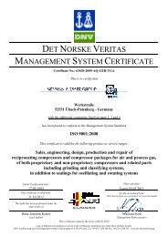 ISO 9001:2008 - Neuman & Esser