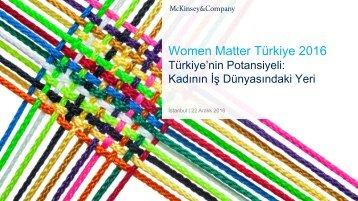 Women Matter Türkiye 2016