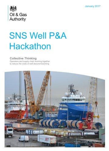 SNS Well P&A Hackathon