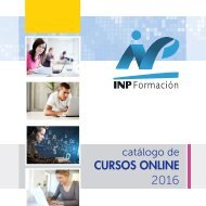 INP Catalogo Cursos Online 2017