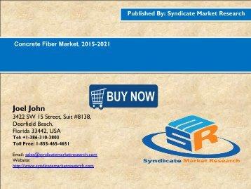 Concrete Fiber Market, 2015-2021