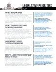 LEGISLATIVE PRIORITIES - Page 2
