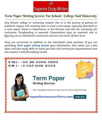 College paper service