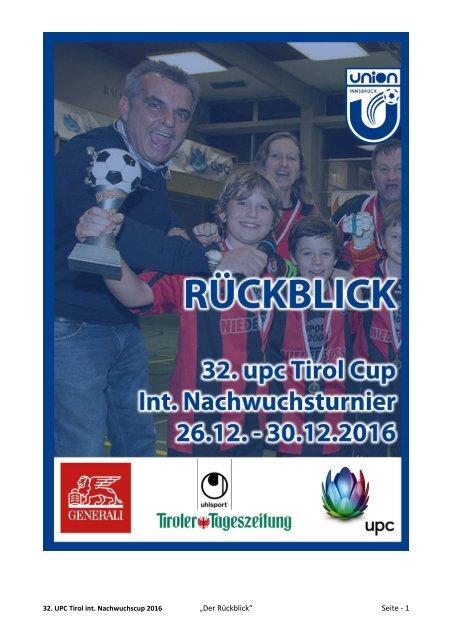 UPC Nachwuchscup 2016, der Rückblick