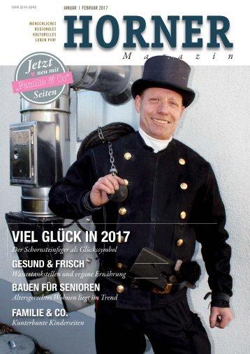 HORNER Magazin | Januar-Februar 2017
