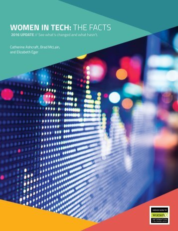 WOMEN IN TECH THE FACTS
