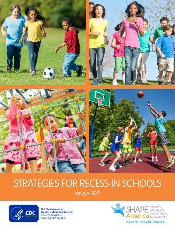 STRATEGIES FOR RECESS IN SCHOOLS