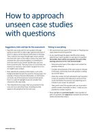 Marked exam answers with assessor feedback - Page 2