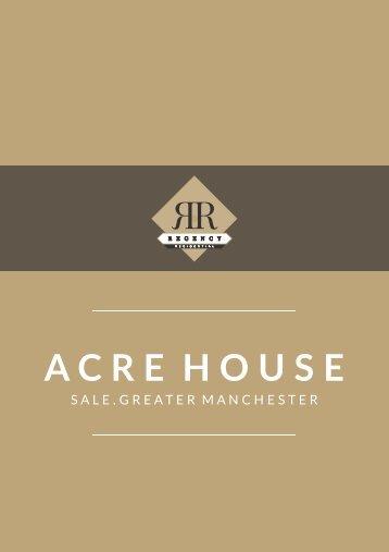Acre House Development Brochure