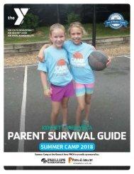 Kennett- Parent Summer Camp Guide - 2018