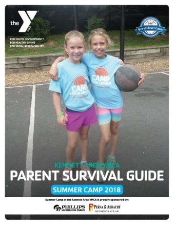 Kennett - Parent Survival Guide - Camp 2017
