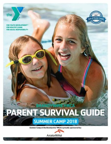 Brandywine - Parent Summer Camp Guide - 2018