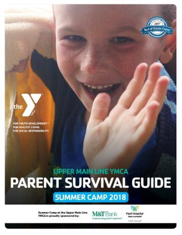 Upper Main Line - Parent Survival Guide - Camp 2017