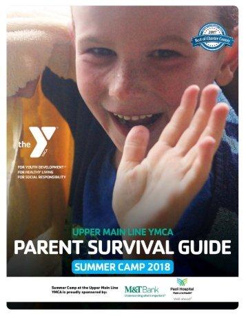 Upper Main Line YMCA - Parent Summer Camp Guide - 2018