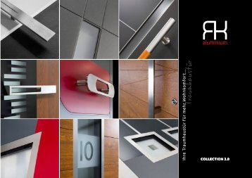 RK Aluminium Top Haustüren