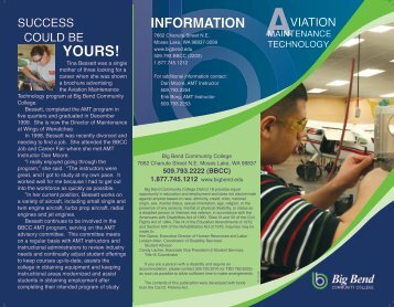YOURS! - Academics - Big Bend Community College