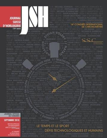 R - SSC - Société Suisse de Chronométrie