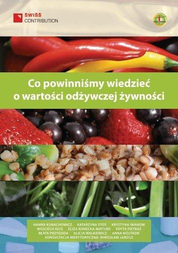Co powinniśmy wiedzieć o wartości odżywczej żywności