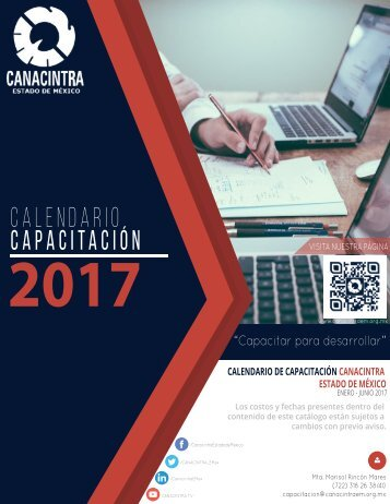CALENDARIO CAPACITACIÓN