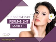 4 Benefits of Permanent Makeup