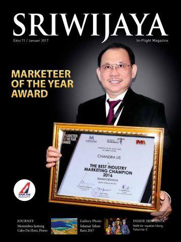 Sriwijaya Magazine Januari 2017