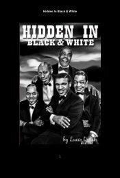 Hidden In Black & White 10-27-16
