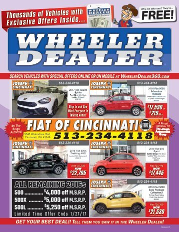 Wheeler Dealer Issue 02, 2017