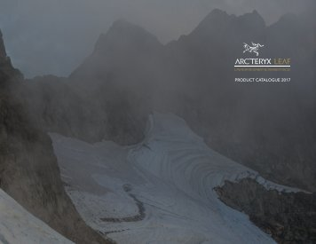 Arc'teryx LEAF 2017 Product Catalogue 2017